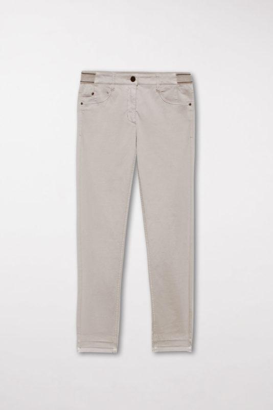 spodnie luisa cerano fioletowe