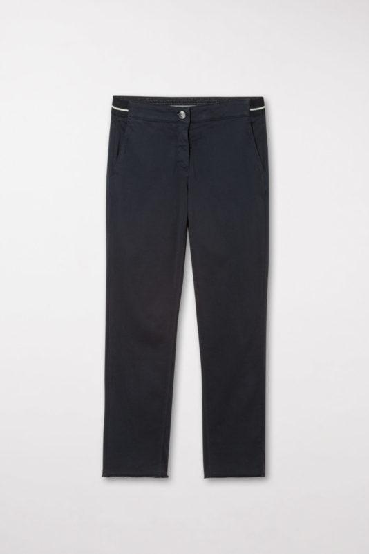 spodnie granatowe luisa cerano