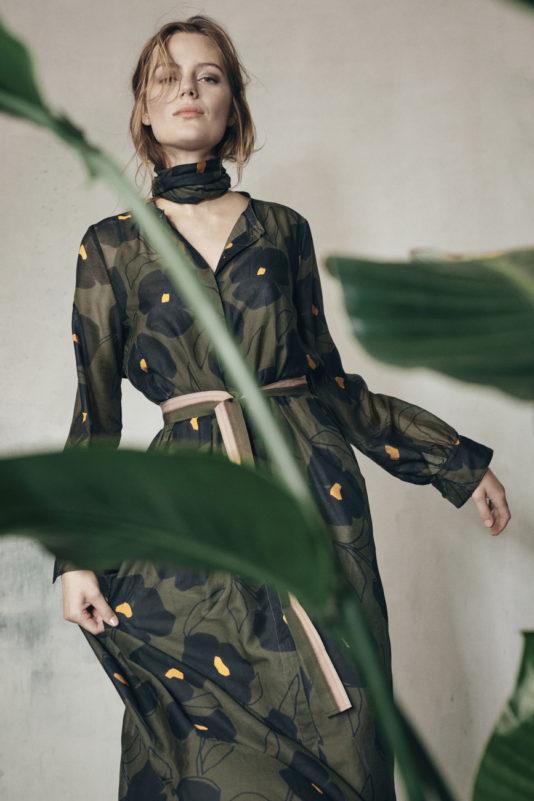 suknia kwiaty olive butik luisa bydgoszcz cerano