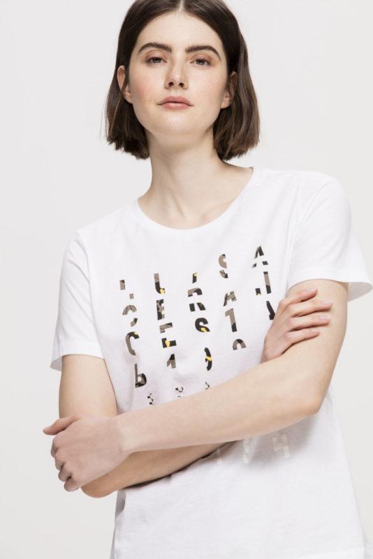 biały t-shirt luisa cerano bydgoszcz dmaski