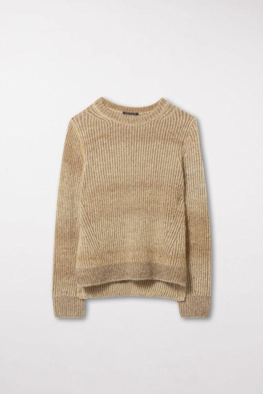 sweter butik luisa złoty kolor alpaka wełniany miły w dotyku bydgoszcz