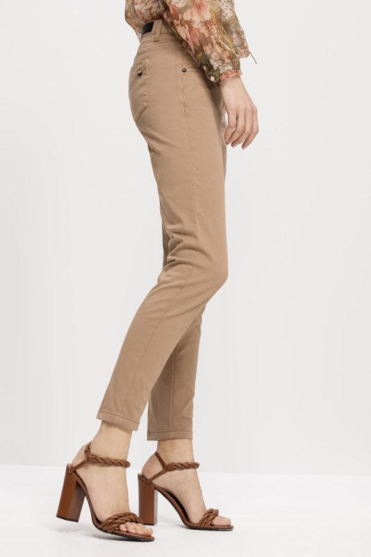 spodnie dopasowane kolor kawowy luisa cerano butik bydgoszcz
