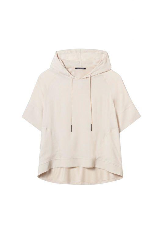 bluza z kapturem luisa cerano kolor skorupkowy butik luisa bydgoszcz