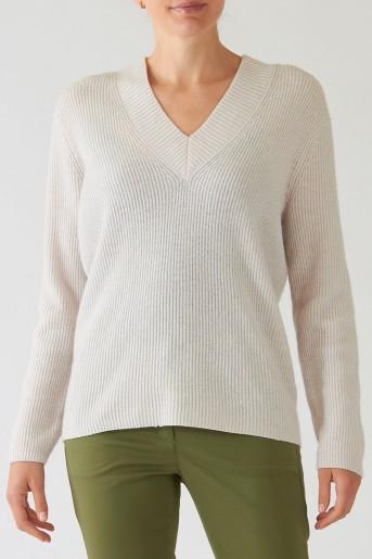 sweter luisa cerano kredowy kaszmirowy butik luisa bydgoszcz