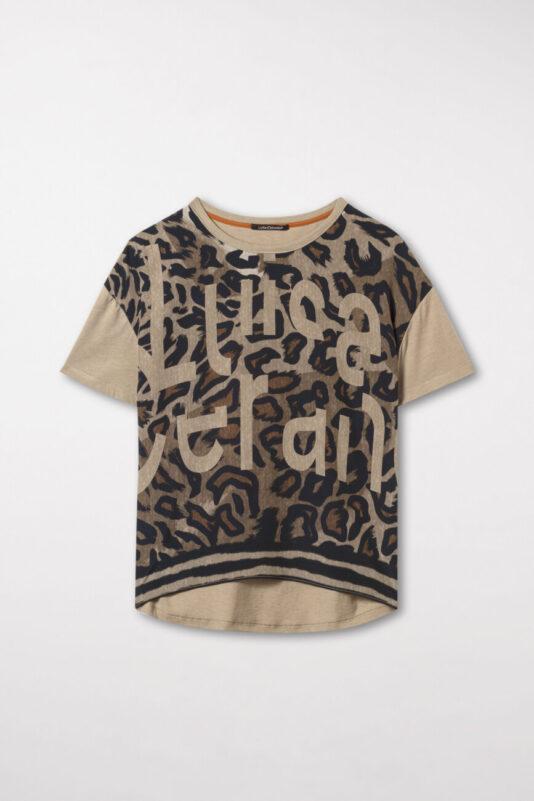 t-shirt pantera luisa cerano butik bydgoszcz jedwab premium