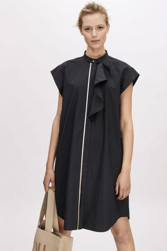 sukienka bluzkowa plisowana elegancka butik luisa bydgoszcz