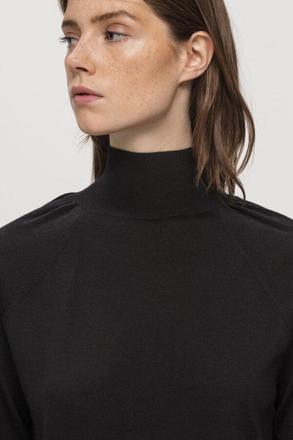 sweter golf czarny damski butik luisa cerano bydgoszcz