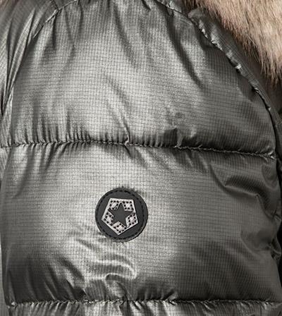 kurtka damska oliwkowa z futerkiem parka damska butik luisa bydgoszcz