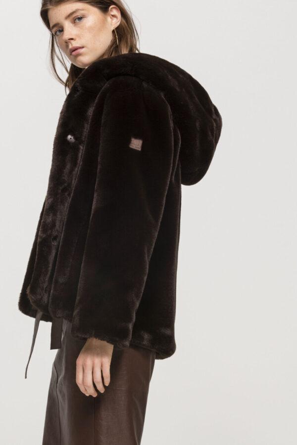kurtka krótkie futerko miekkie miłe butik luisa bydgoszcz