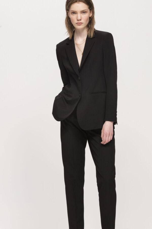 spodnie czarne galowe luisa cerano damskie butik luisa bydgoszcz