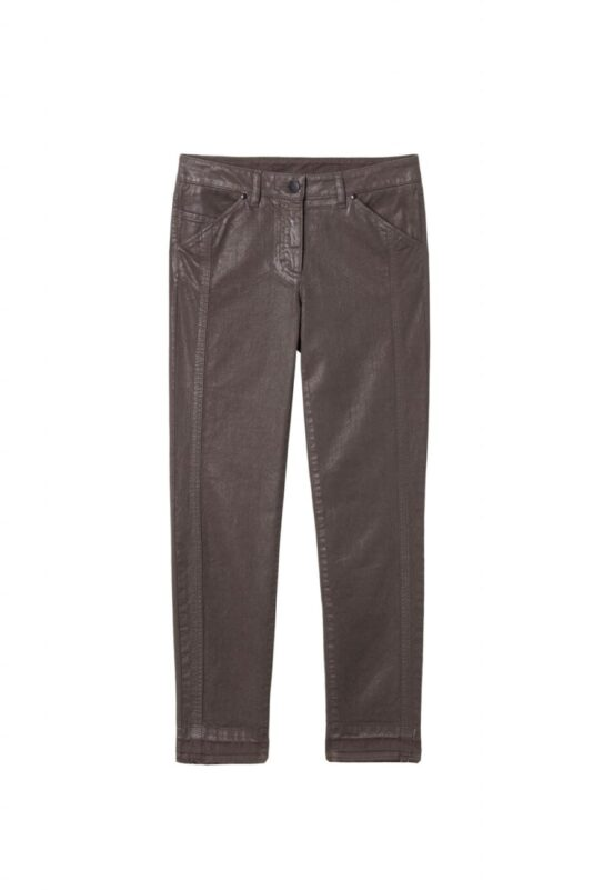 spodnie efekt nawoskowania luisa cerano damskie butik luisa bydgoszcz