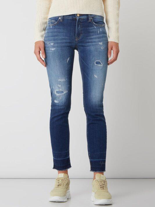 spodnie dzinsy niebieskie damskie cambio butik luisa bydgoszcz
