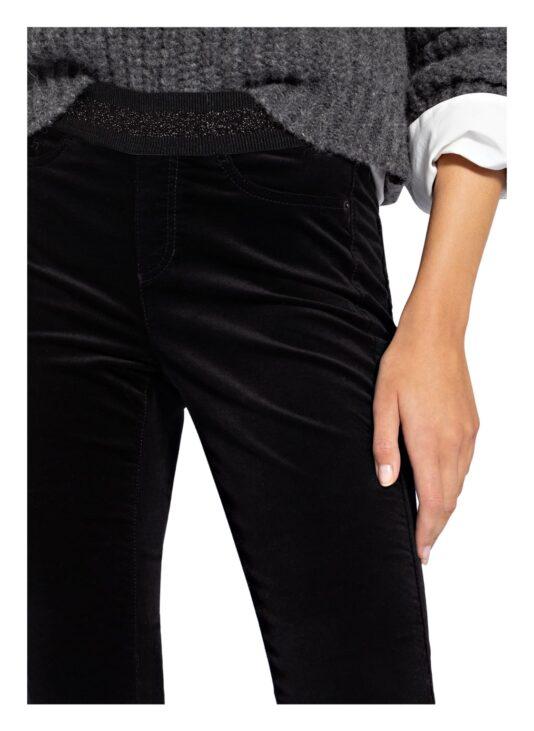 spodnie cambio czarne lekko dopasowane elastyczne butik luisa bydgoszcz
