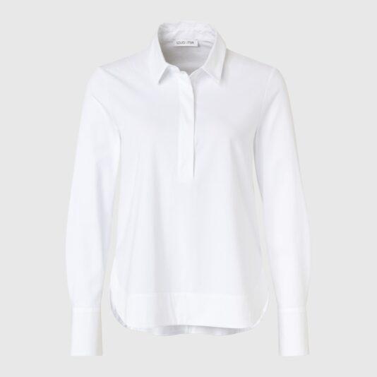 biała bluzka damska koszula louis and mia luźny krój butik luisa bydgoszcz