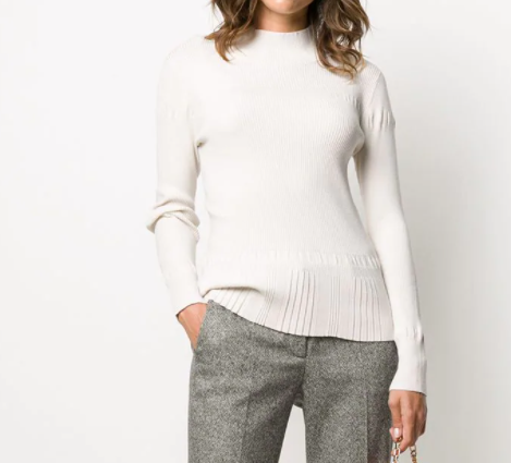 sweter luisa cerano damski biały top butik luisa bydgoszcz