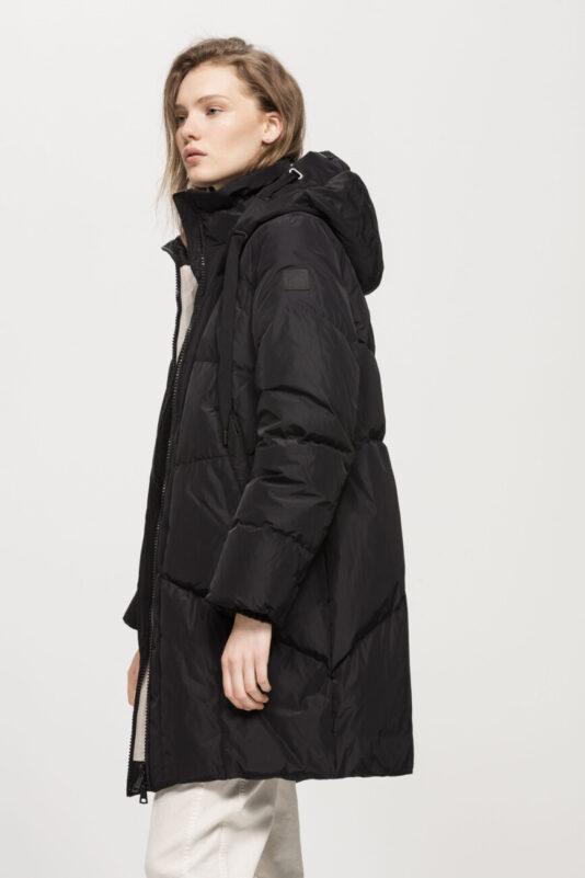 kurtka czarna ciepła pikowana damska butik luisa bydgoszcz