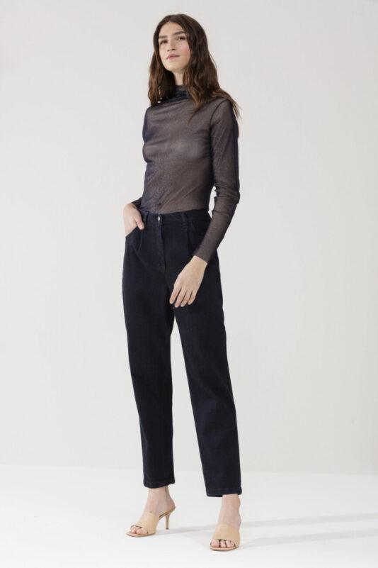 t-shirt-luisa-cerano-damski przeźroczysty elegancki modowy top butik luisa bydgoszcz