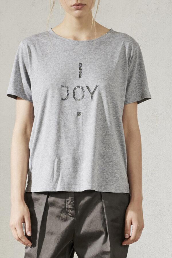 t-shirt luisa cerano damski z logo grey butik luisa bydgoszcz damski