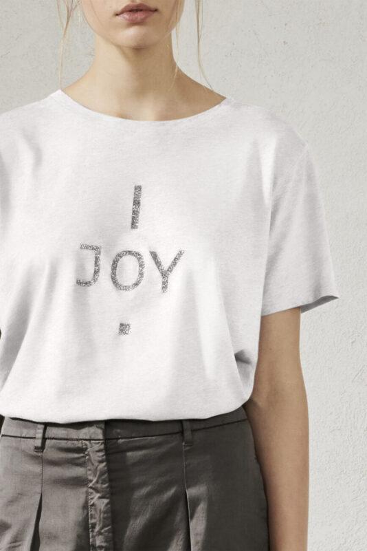 t-shirt luisa cerano damski z logo biały butik luisa bydgoszcz damski