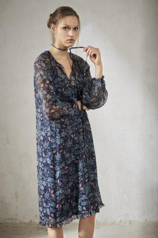 sukienka w kwiaty z podszewka butik luisa cerano bydgoszcz premium dress 2021