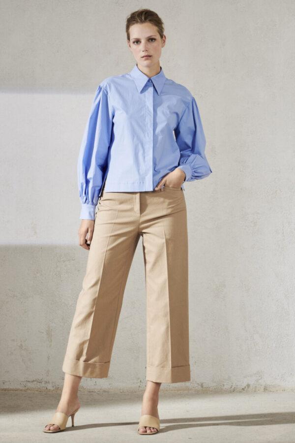 bluzka błekitna luisa cerano elegancka modowa świeża butik luisa bydgoszcz damska