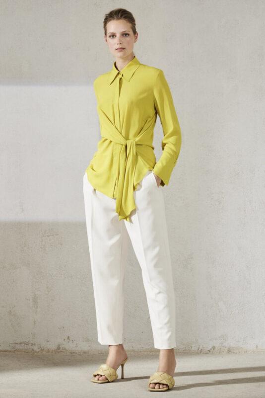 bluzka damska luisa cerano luźny krój modowa wiązana butik luisa bydgoszcz