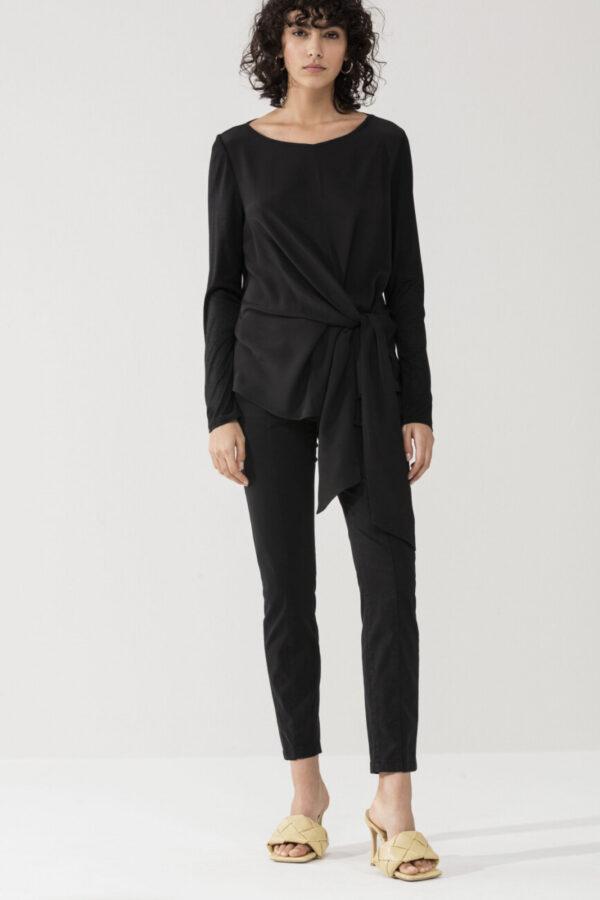 spodnie-luisa-cerano-damskie eleganckie czarne gładkie skinny butik luisa bydgoszcz