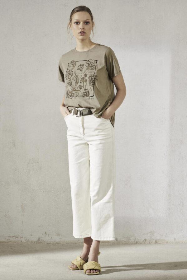t-shirt-luisa-cerano-damski bawełna luisa cerano butik luisa bydgoszcz nadruk front