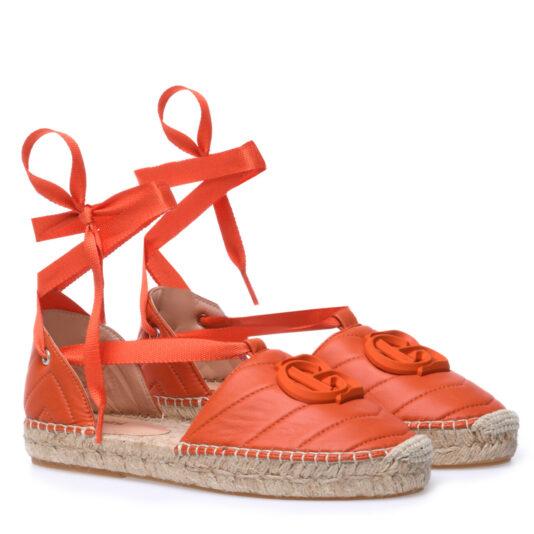 espadryle-baldinini-damskie pomarańczowe letnie wygodne butik luisa bydgoszcz