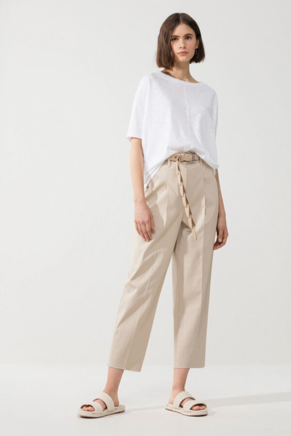 t-shirt-luisa-cerano-biały luźne ramiona butik luisa bydgoszcz damski oversized