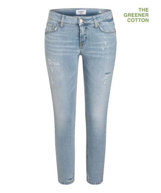 spodnie-cambio-damskie efekt znoszenia butik lusia bydgoszcz niebieskie modowe