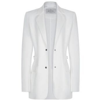 marynarka-milestone biała jednorzędowa elegancka butik luisa bydgoszcz damska