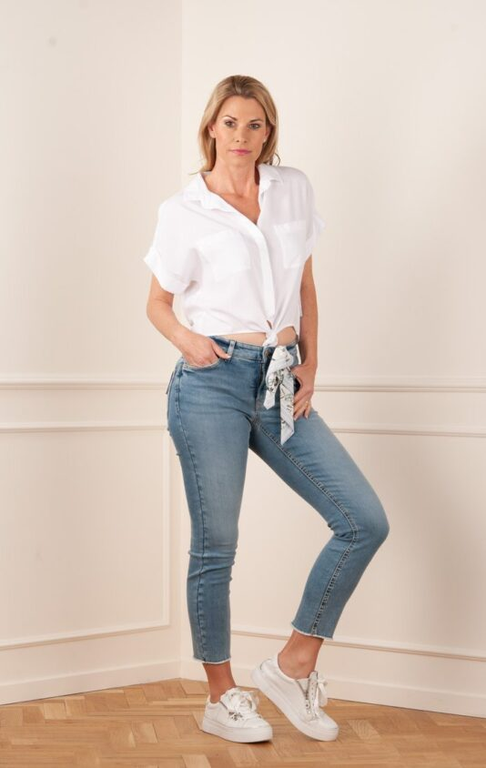 spodnie-cambio-damskie dżinsy nogawki 7/8 butik luisa bydgoszcz paris