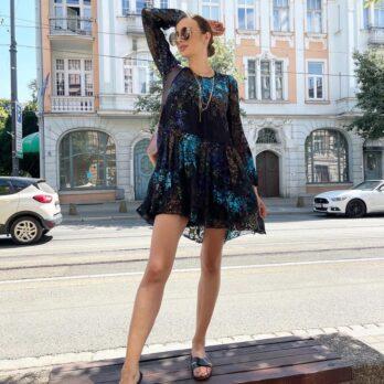 suknia-beate-heymann-czarna wieczorowa elegancka modowa wyjściowa butik luisa bydgoszcz