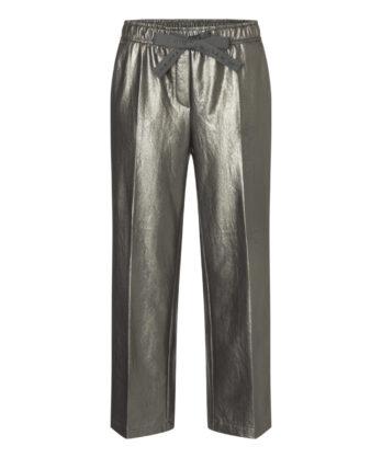 spodnie-cambio-srebne ekoskóra skórzane eleganckie modowe butik luisa bydgoszcz